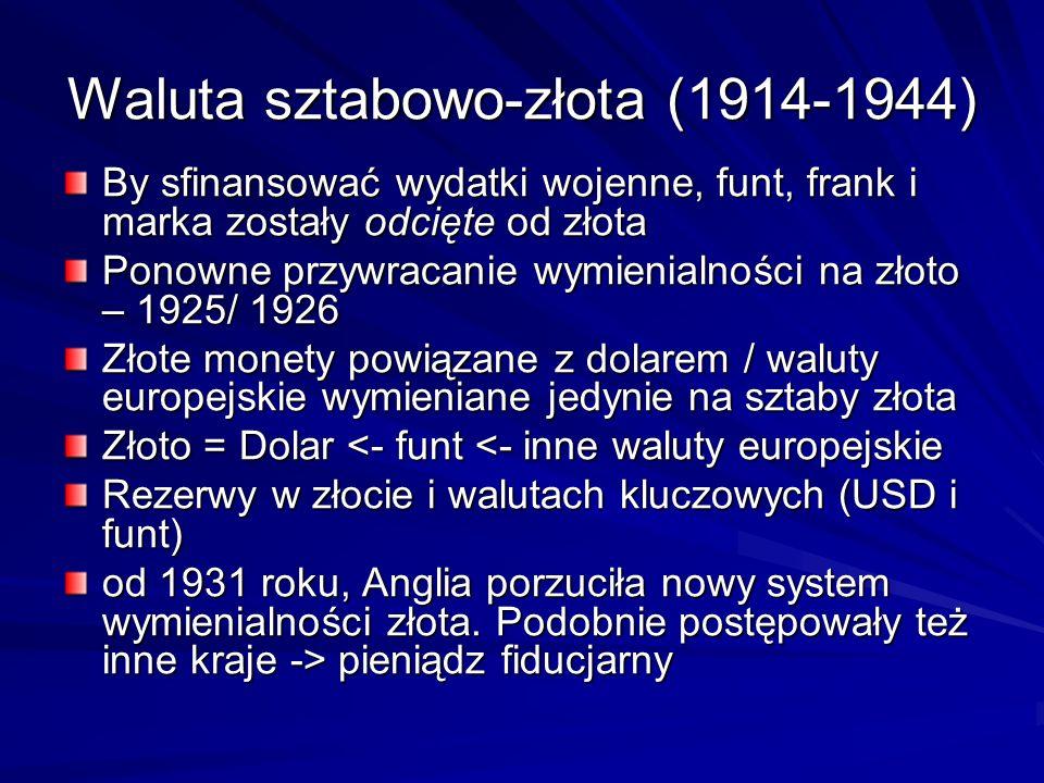 Waluta sztabowo-złota (1914-1944)