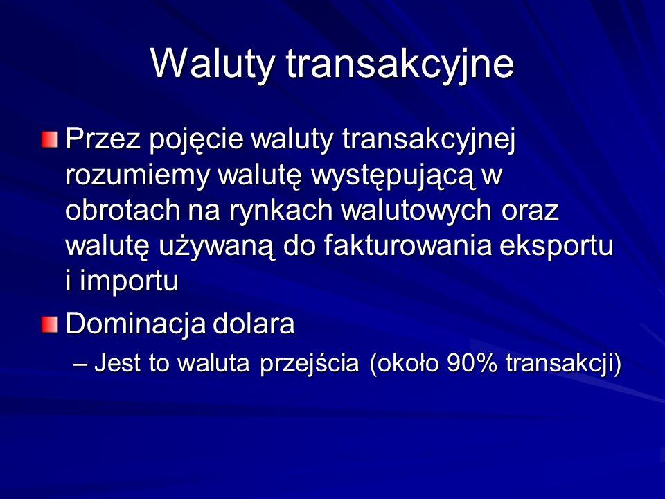 Waluty transakcyjne