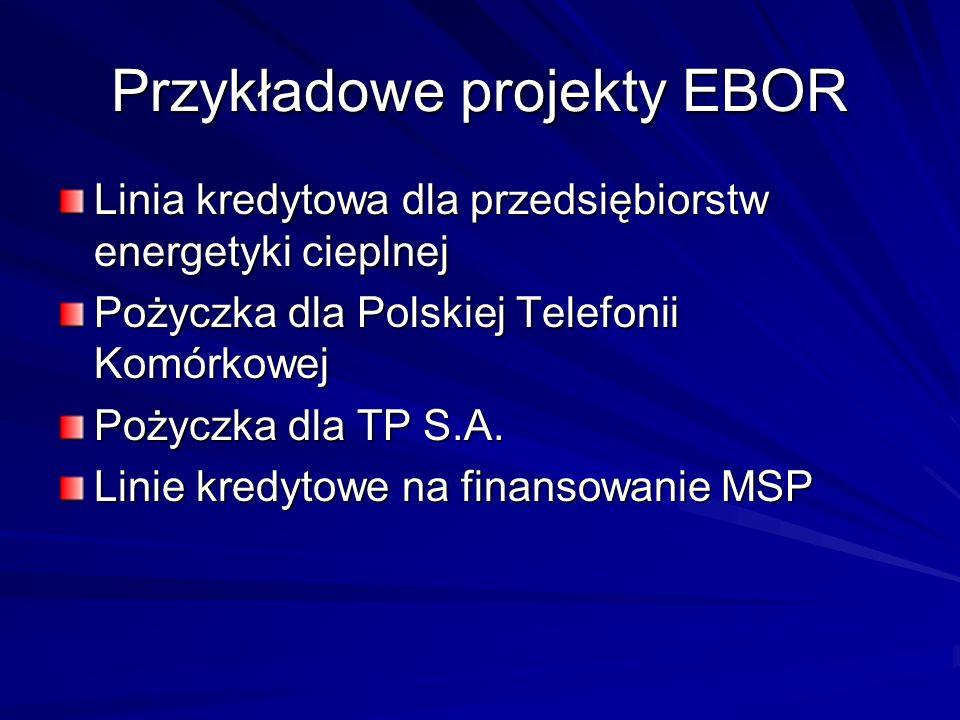 Przykładowe projekty EBOR