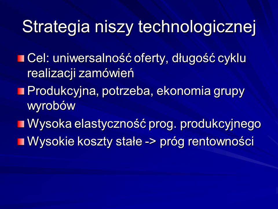 Strategia niszy technologicznej