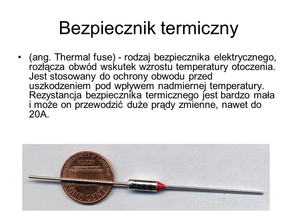 Bezpiecznik termiczny