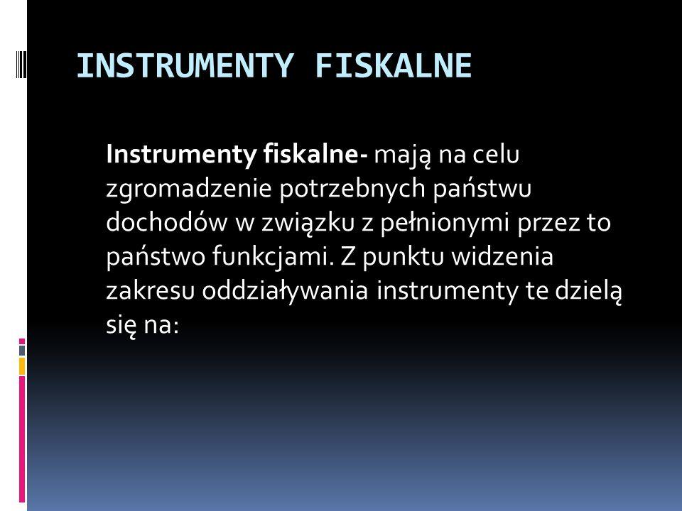 INSTRUMENTY FISKALNE