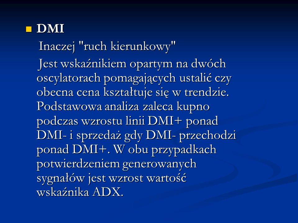 DMI Inaczej ruch kierunkowy