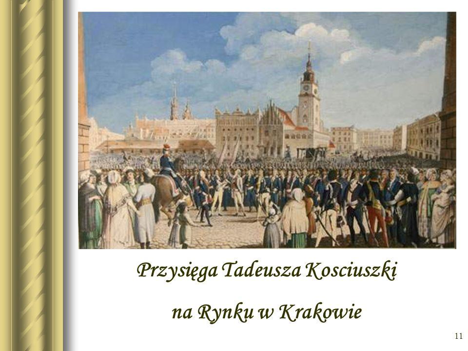 Przysięga Tadeusza Kosciuszki