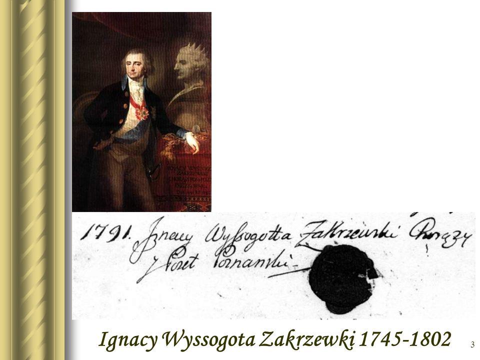 Ignacy Wyssogota Zakrzewki 1745-1802