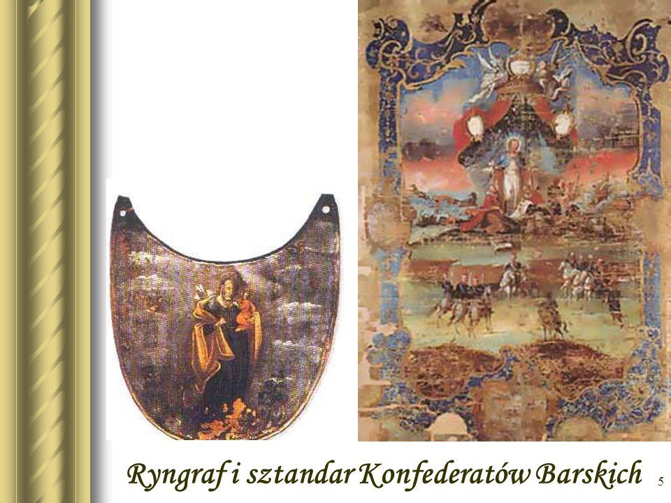 Ryngraf i sztandar Konfederatów Barskich