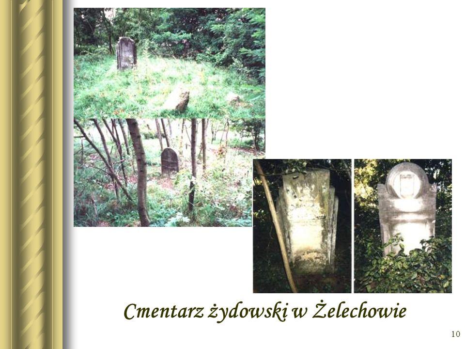 Cmentarz żydowski w Żelechowie