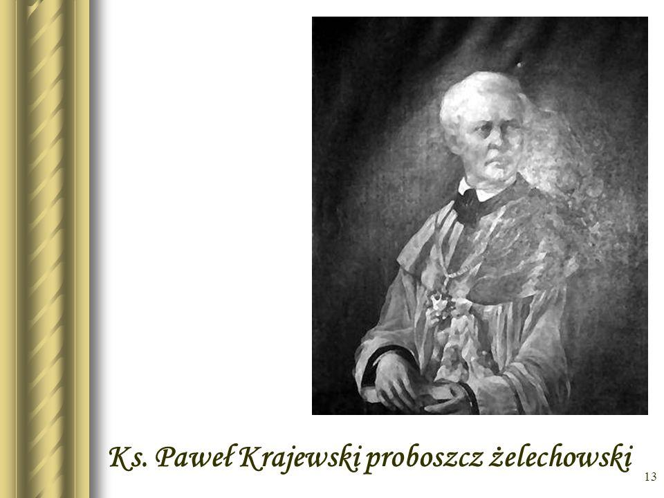 Ks. Paweł Krajewski proboszcz żelechowski