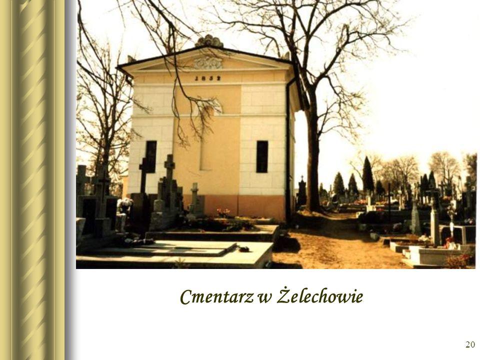 * Cmentarz w Żelechowie