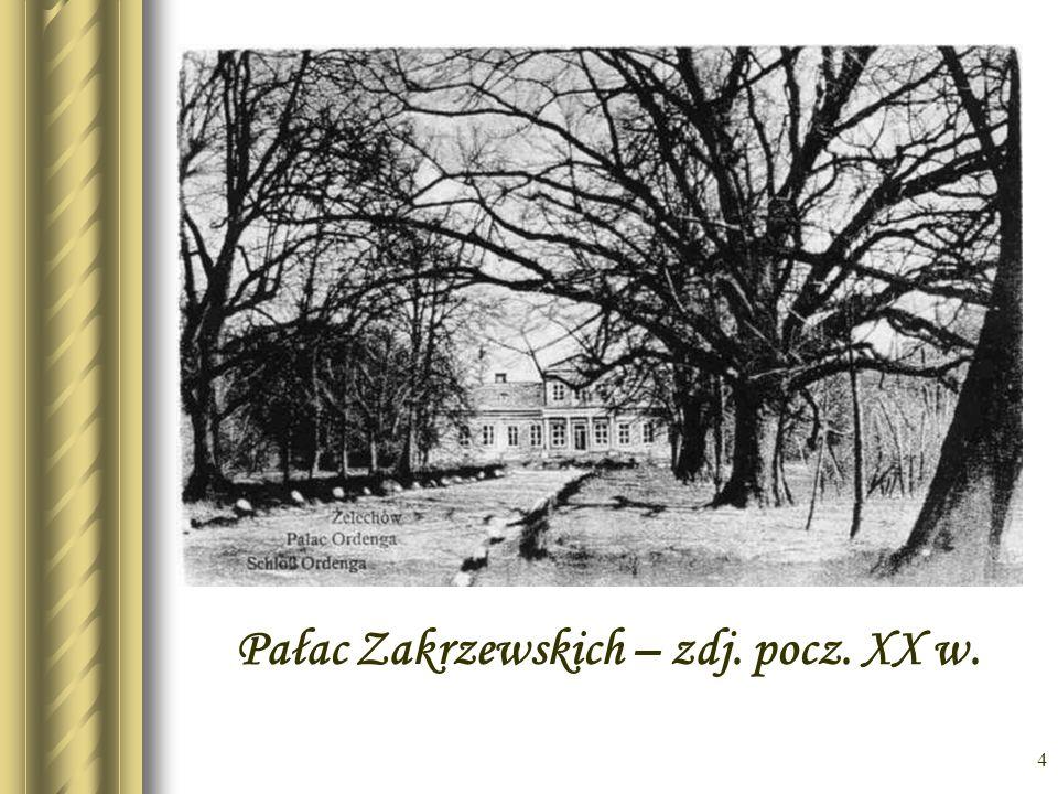 Pałac Zakrzewskich – zdj. pocz. XX w.