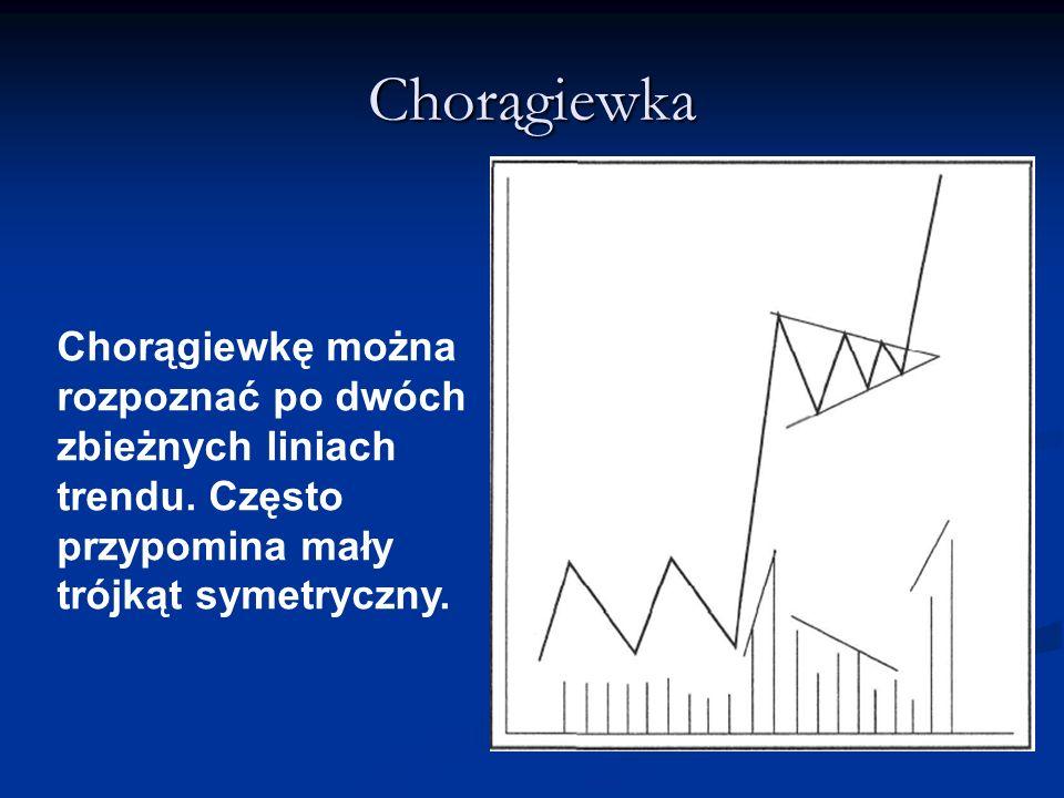 Chorągiewka Chorągiewkę można rozpoznać po dwóch zbieżnych liniach