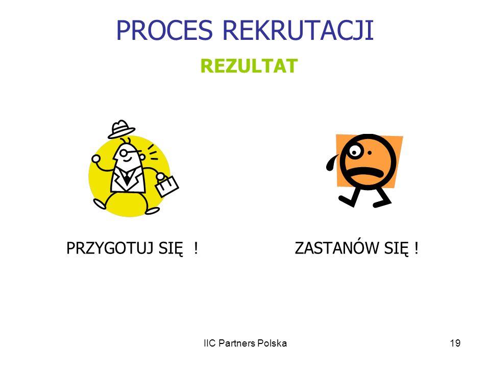 PROCES REKRUTACJI REZULTAT