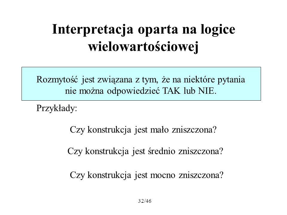 Interpretacja oparta na logice wielowartościowej