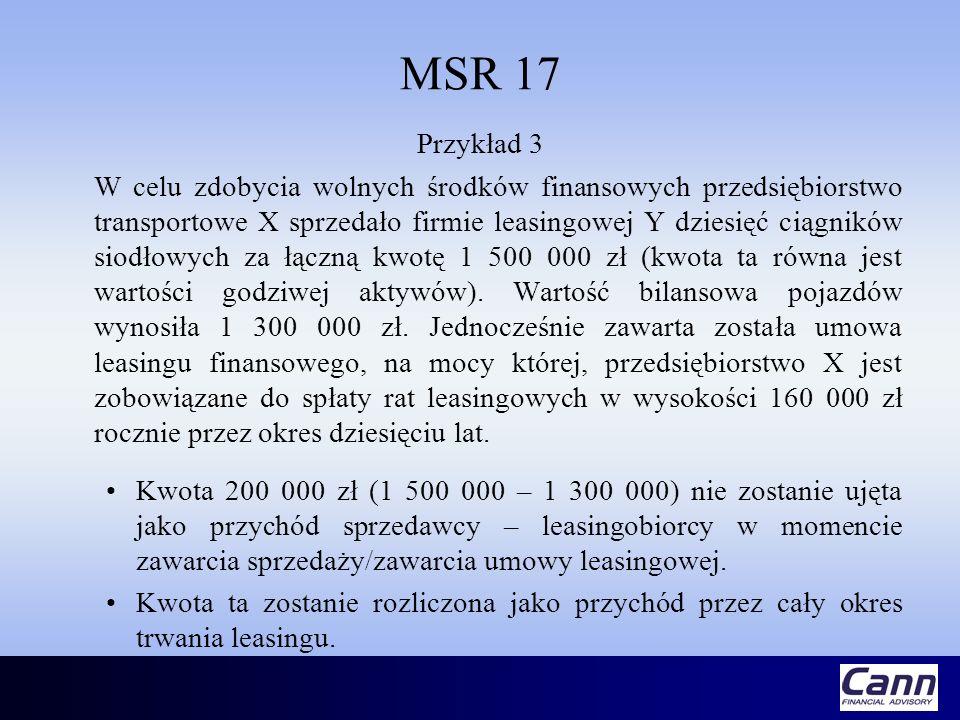 MSR 17 Przykład 3.
