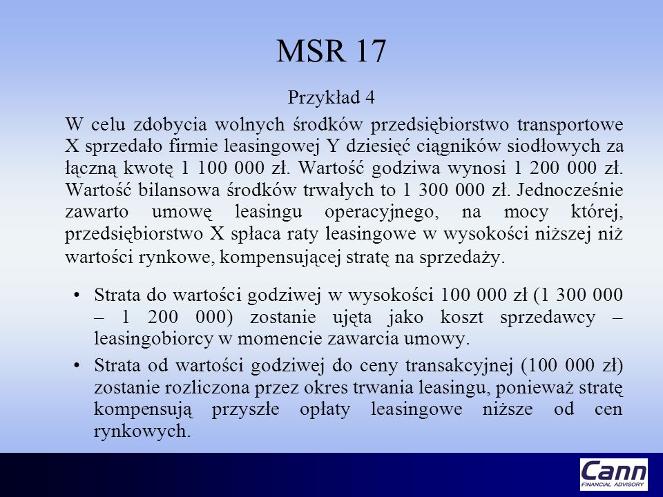 MSR 17 Przykład 4.