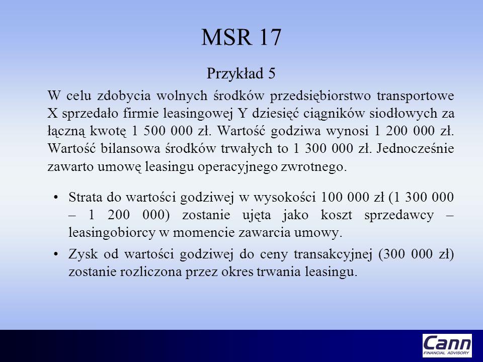 MSR 17 Przykład 5.