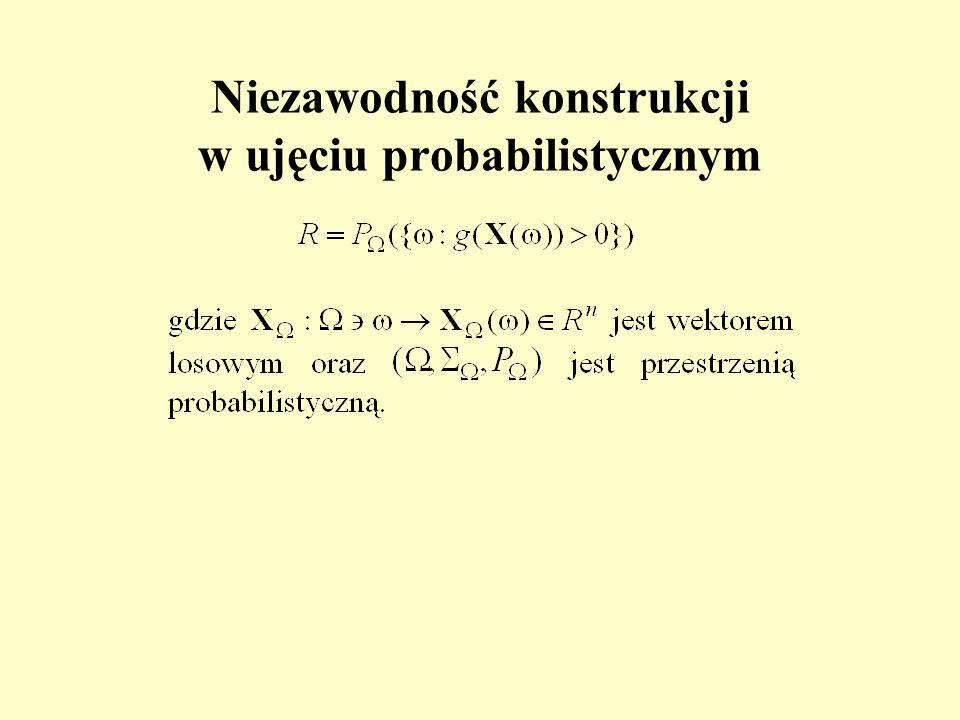 Niezawodność konstrukcji w ujęciu probabilistycznym