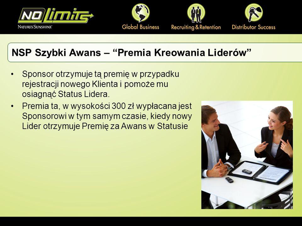 NSP Szybki Awans – Premia Kreowania Liderów