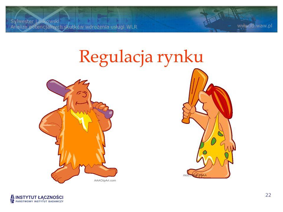 Regulacja rynku