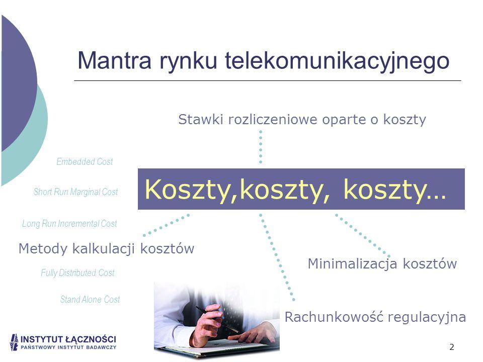 Mantra rynku telekomunikacyjnego