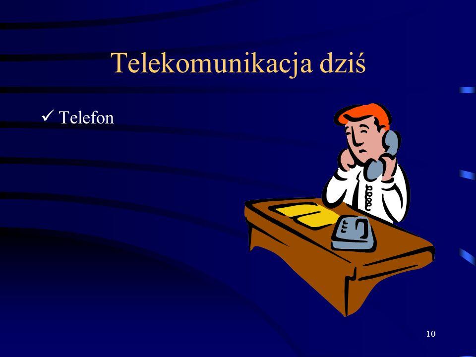 Telekomunikacja dziś Telefon