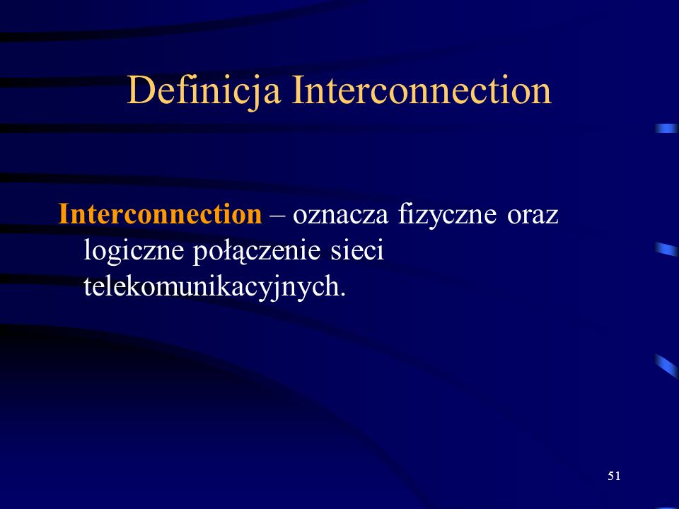 Definicja Interconnection