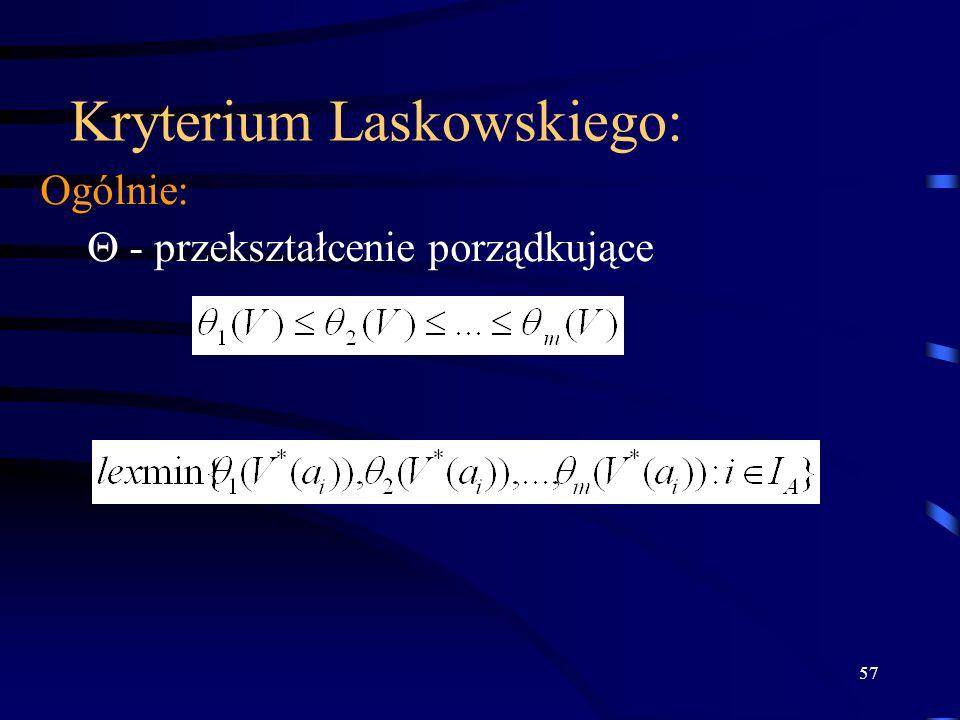 Kryterium Laskowskiego: