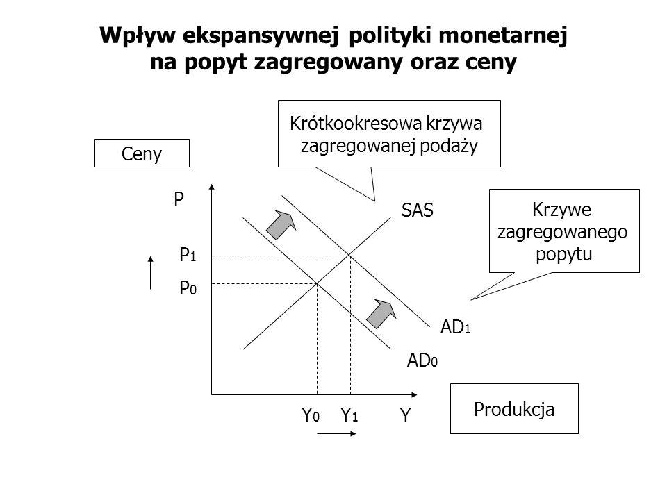 Wpływ ekspansywnej polityki monetarnej na popyt zagregowany oraz ceny