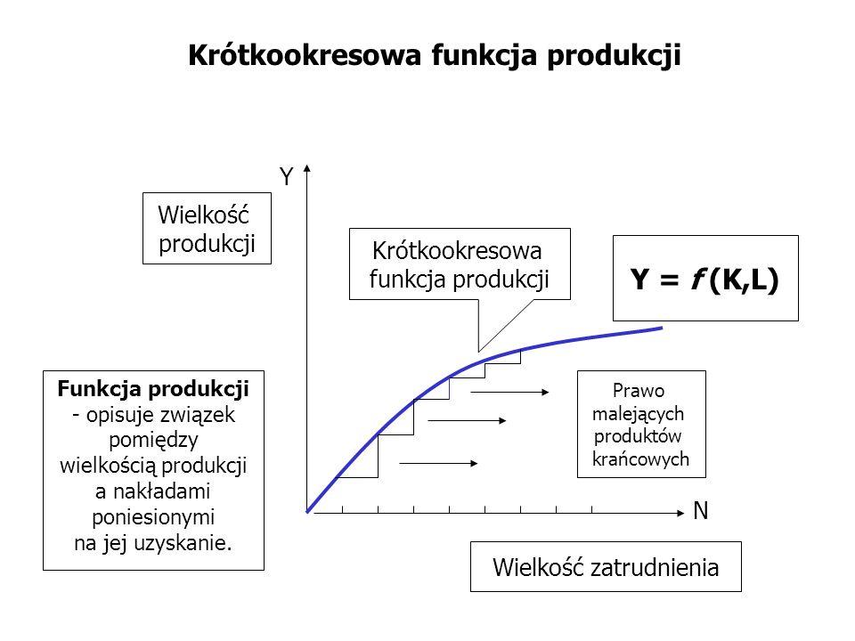Krótkookresowa funkcja produkcji