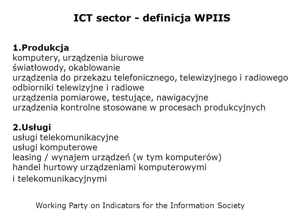 ICT sector - definicja WPIIS