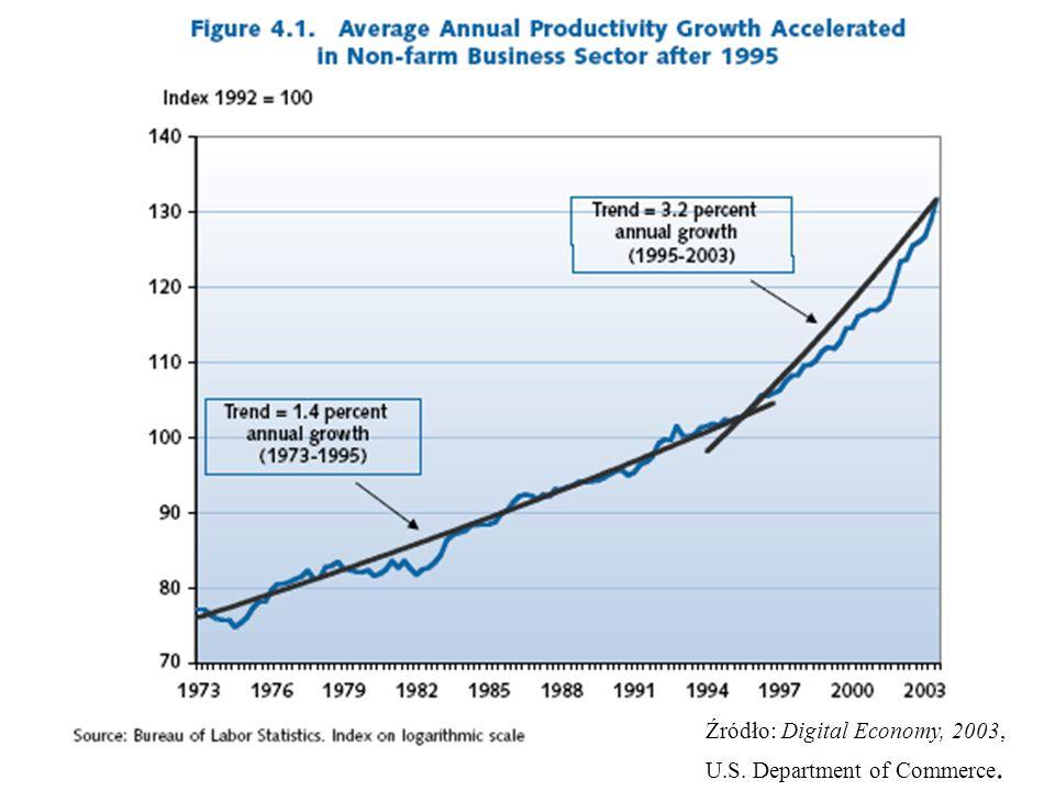 Źródło: Digital Economy, 2003,