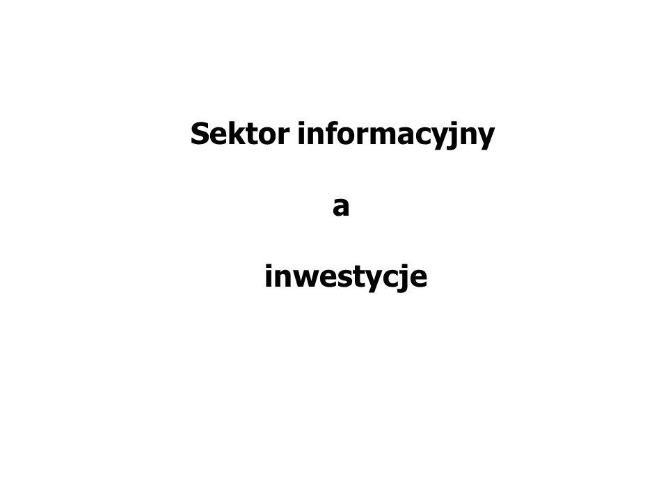Sektor informacyjny a inwestycje