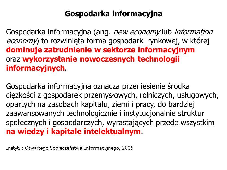 Gospodarka informacyjna