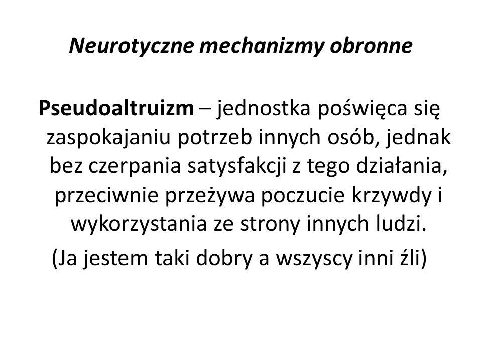 Neurotyczne mechanizmy obronne