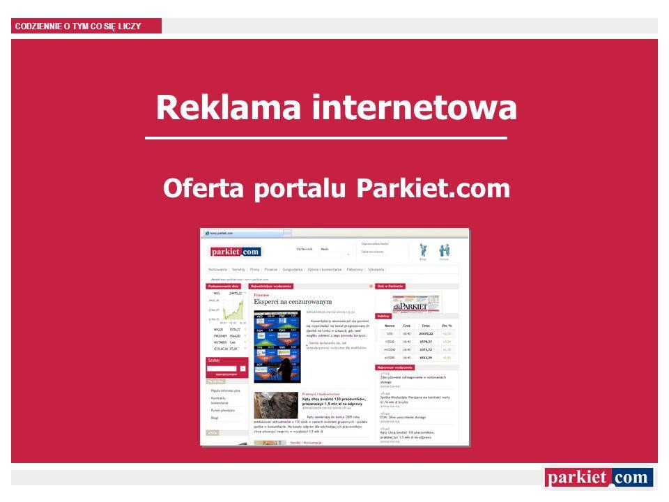 Oferta portalu Parkiet.com