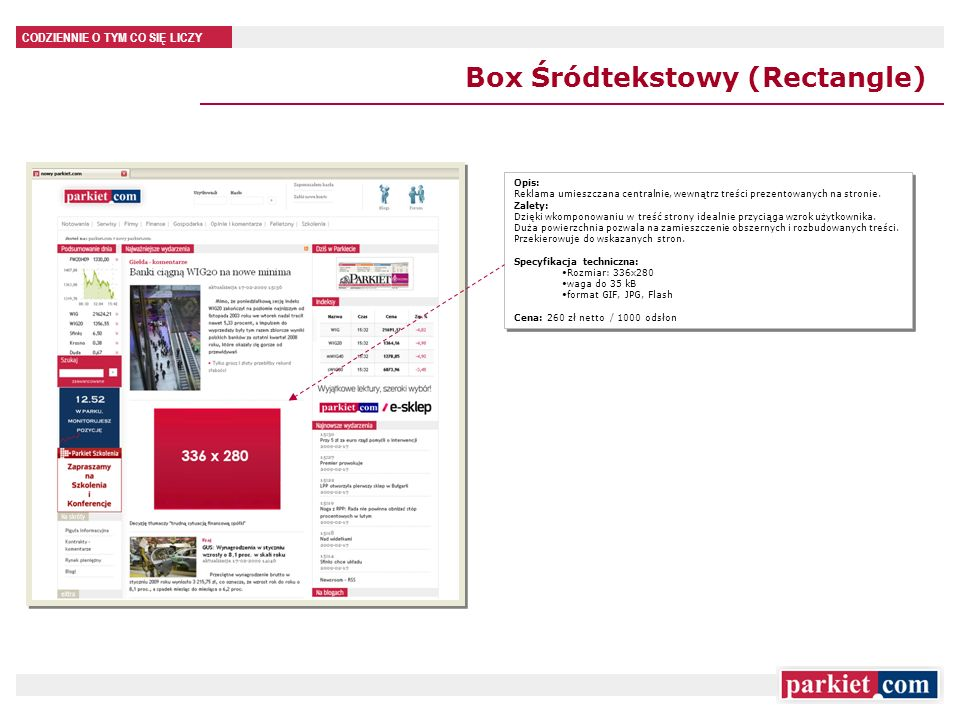 Box Śródtekstowy (Rectangle)