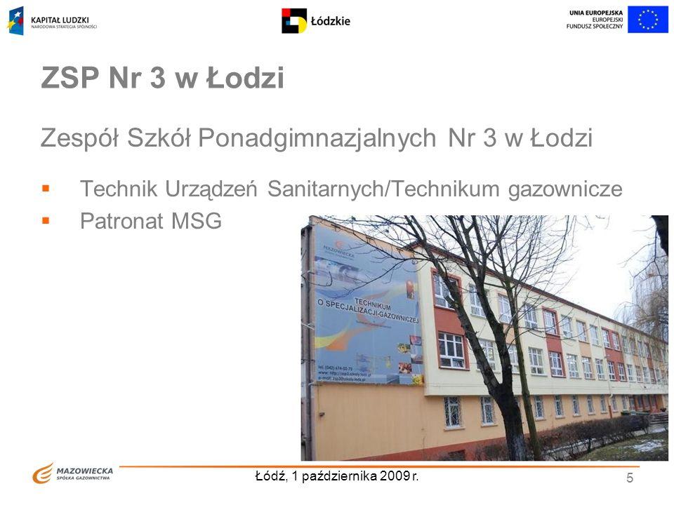 ZSP Nr 3 w Łodzi Zespół Szkół Ponadgimnazjalnych Nr 3 w Łodzi