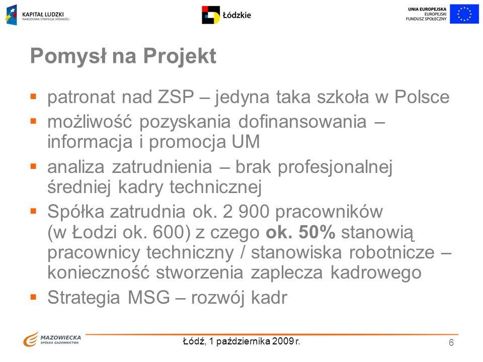 Pomysł na Projekt patronat nad ZSP – jedyna taka szkoła w Polsce