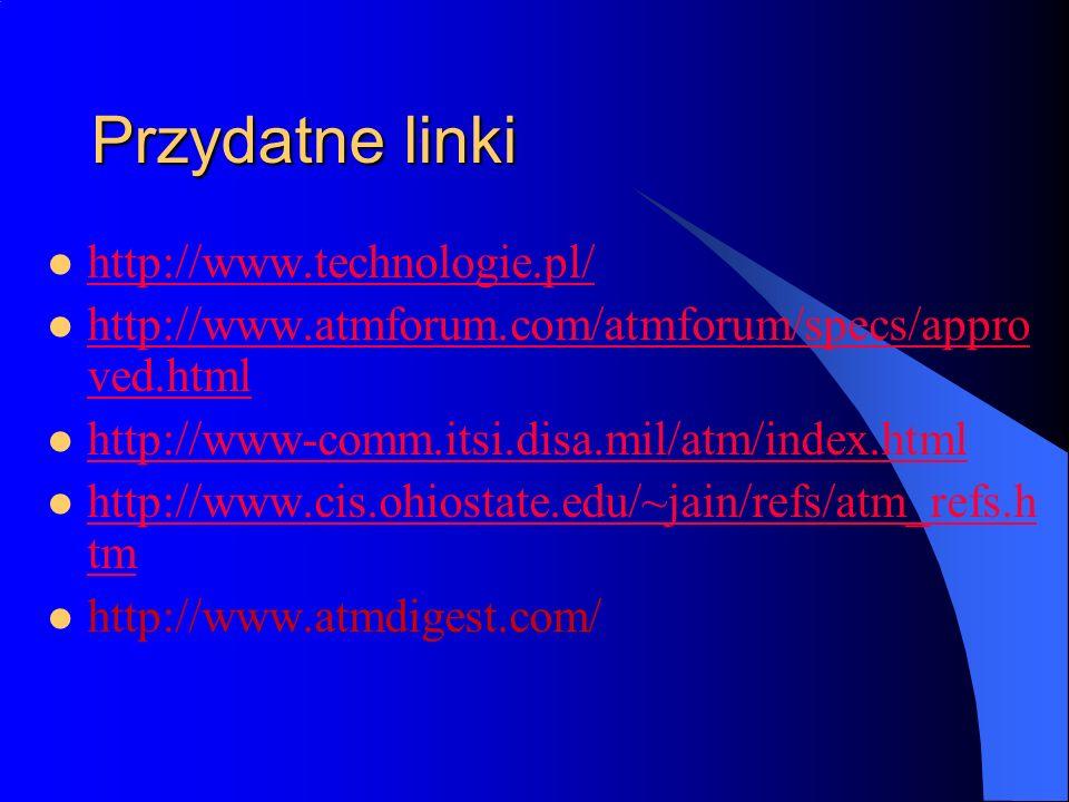 Przydatne linki http://www.technologie.pl/