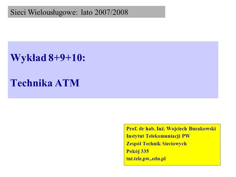 Wykład 8+9+10: Technika ATM