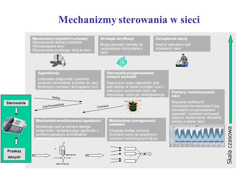 Mechanizmy sterowania w sieci