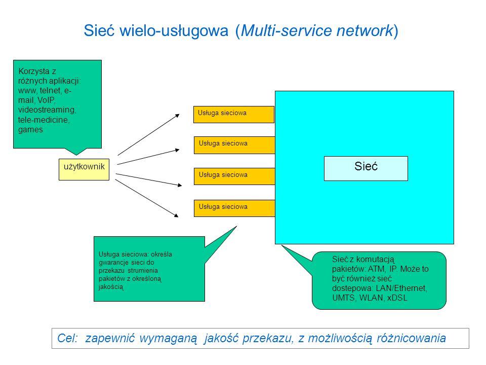 Sieć wielo-usługowa (Multi-service network)