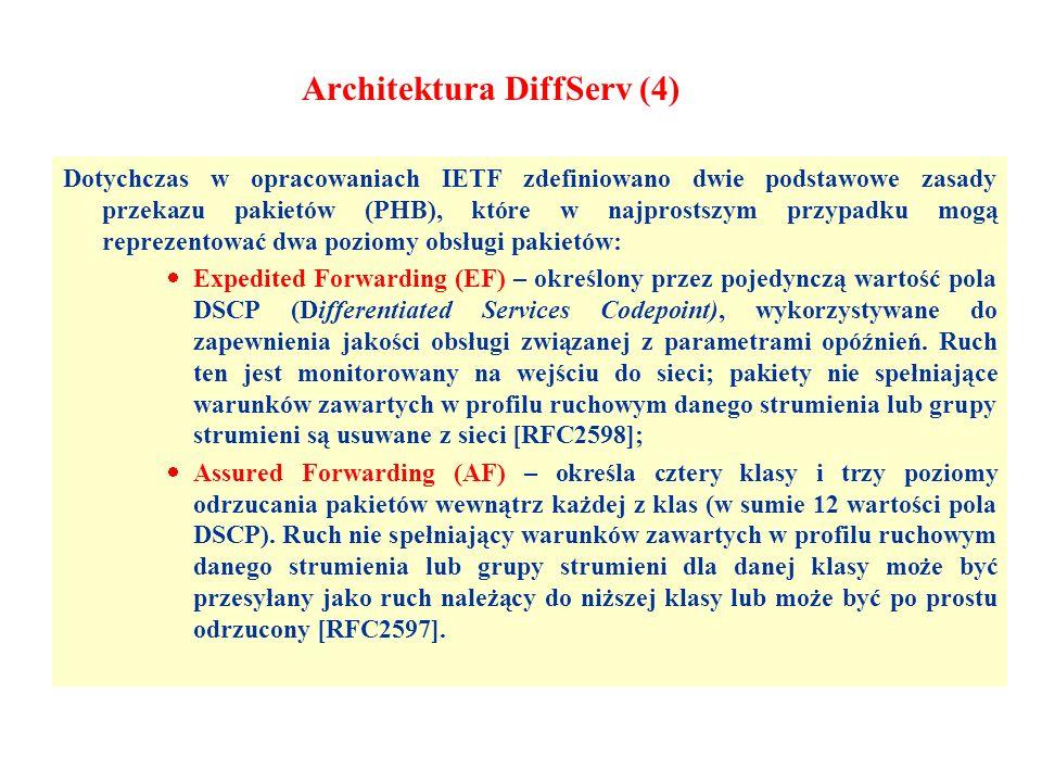 Architektura DiffServ (4)