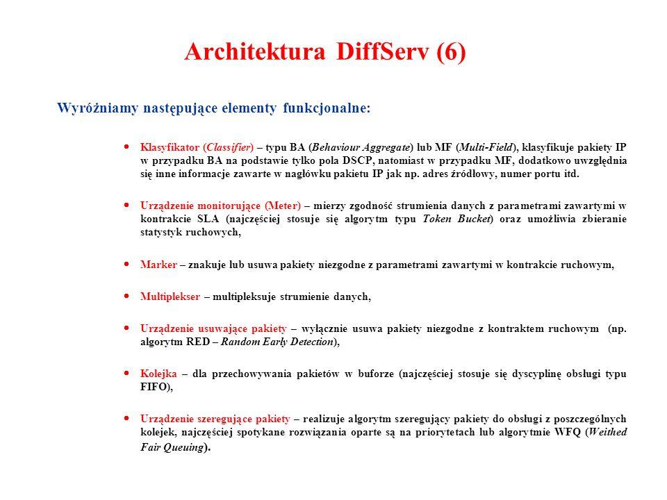 Architektura DiffServ (6)