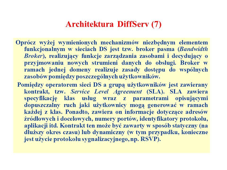 Architektura DiffServ (7)