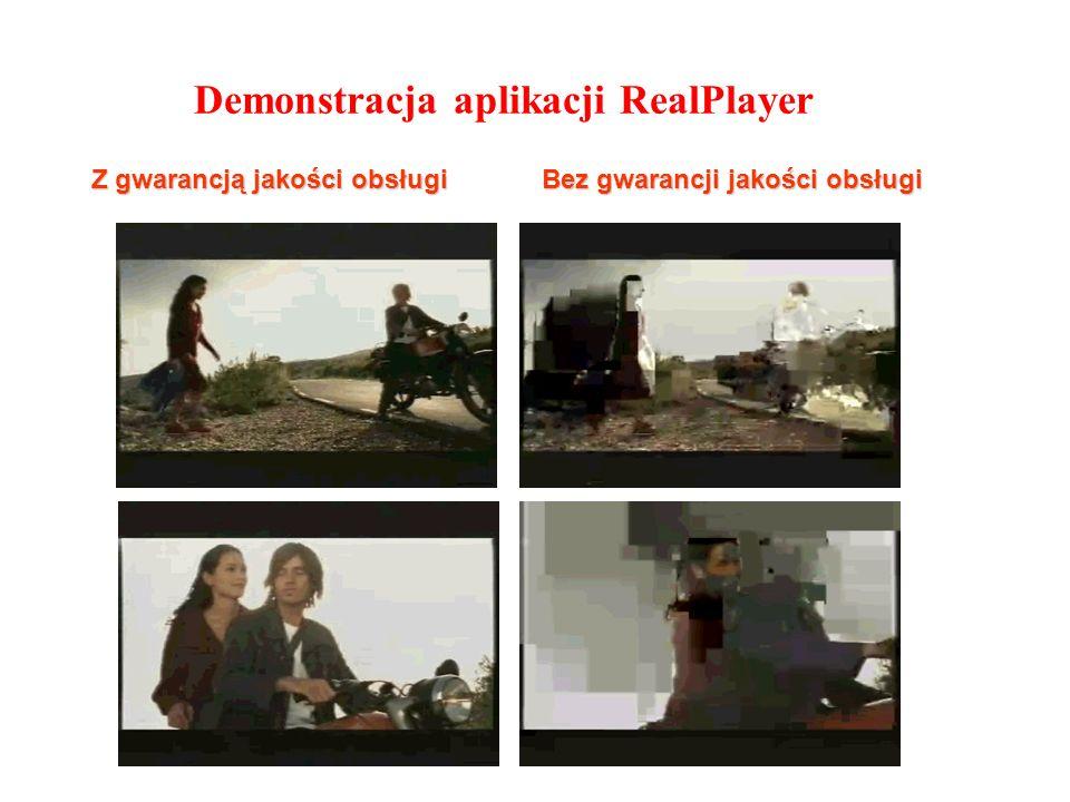 Demonstracja aplikacji RealPlayer