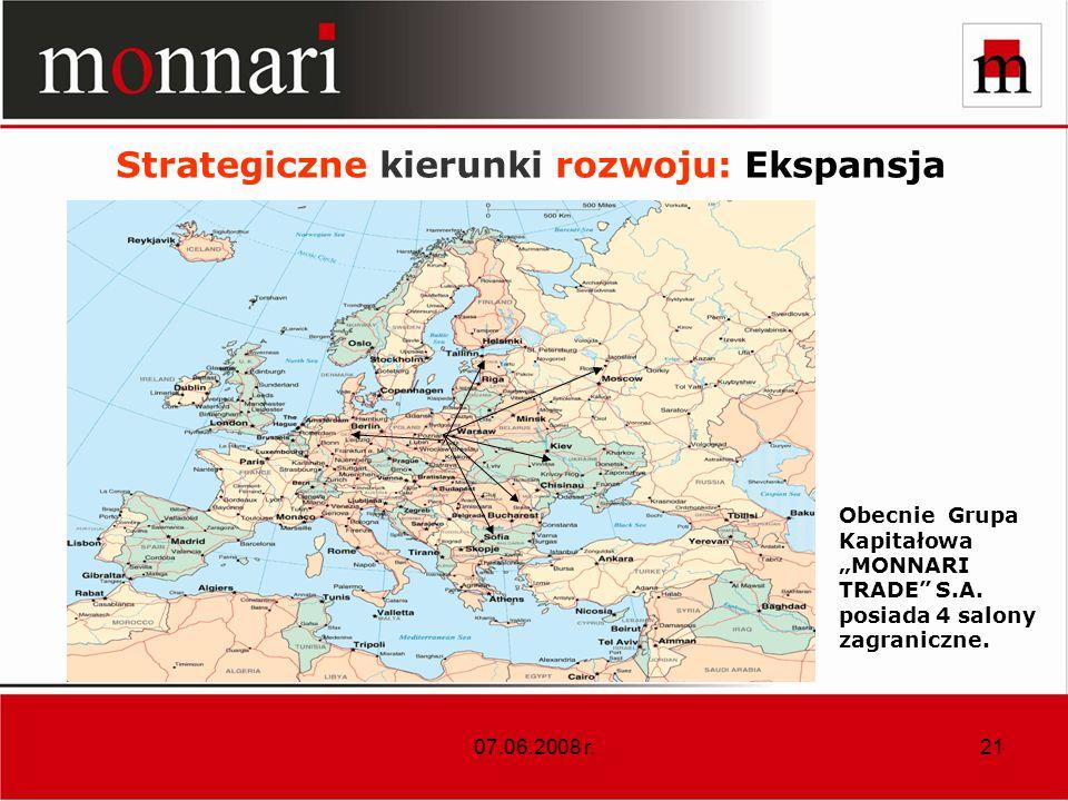 Strategiczne kierunki rozwoju: Ekspansja