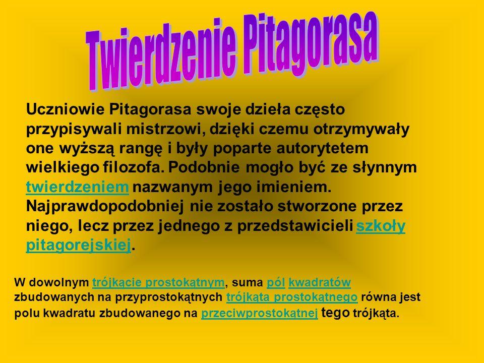 Twierdzenie Pitagorasa