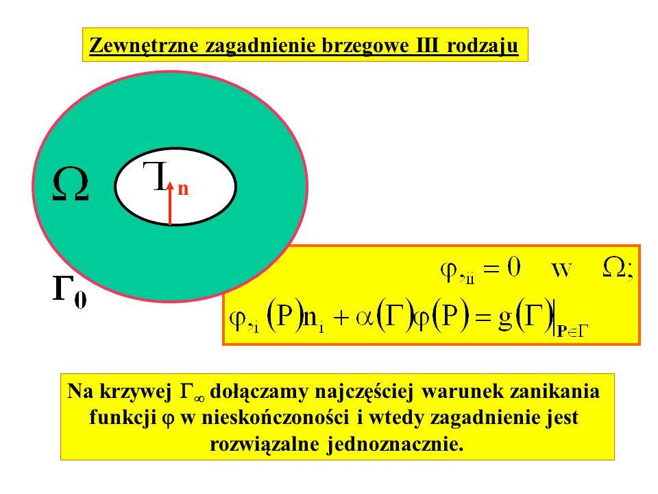 Zewnętrzne zagadnienie brzegowe III rodzaju