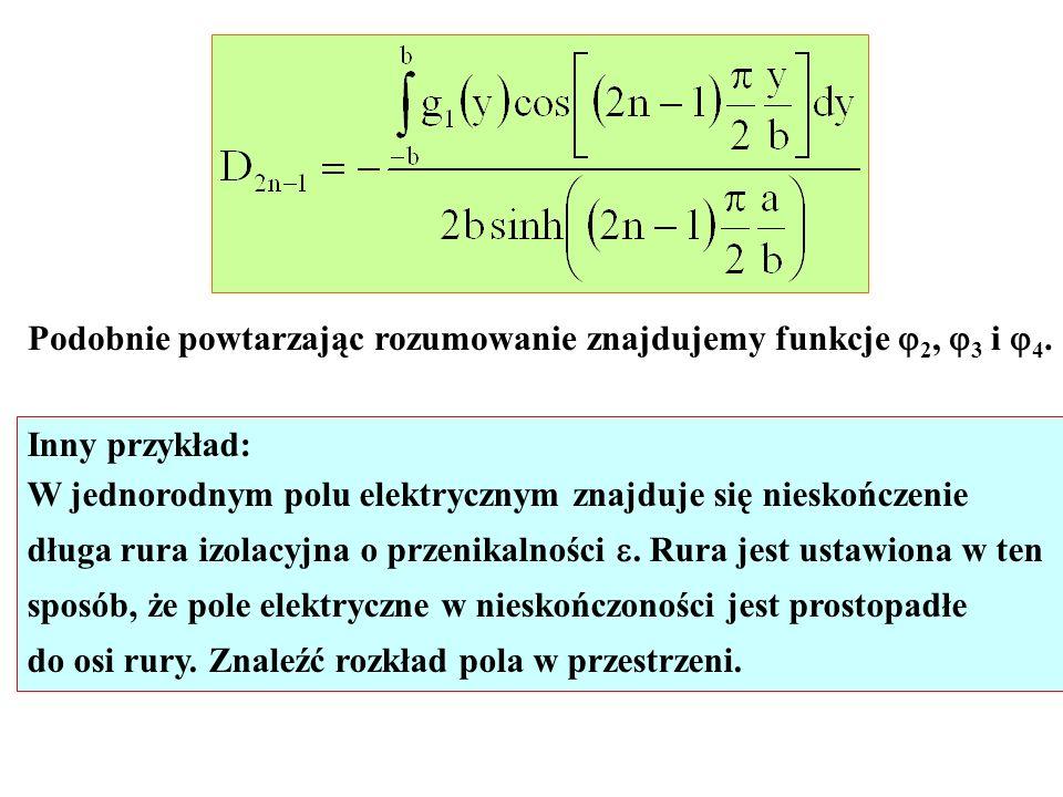 Podobnie powtarzając rozumowanie znajdujemy funkcje 2, 3 i 4.